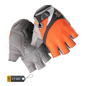 Most Comfortable Cycling Gloves BoultPro by Elite Leather (CY-007)