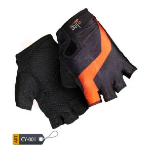 Half Finger Cycling Gloves Splinter by Elite Leather (CY-001)