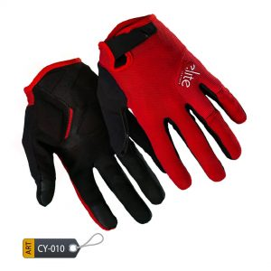 Long Finger Cycling Gloves SprintMax by Elite Leather (CY-010)