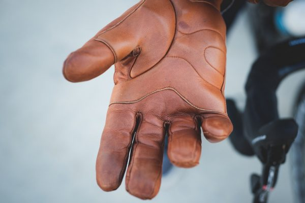Brown Leather Gloves Mens