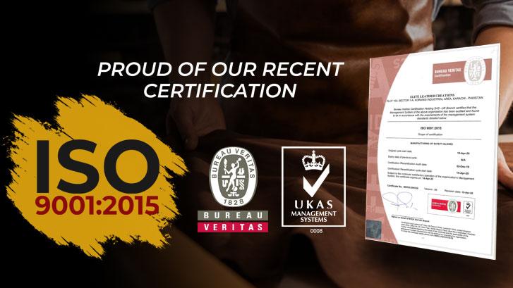 ELC ISO 9001 Certificate