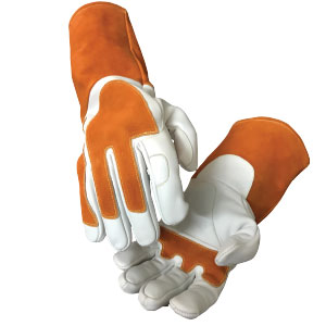 Mechweld cut-resistant glove by elite leather