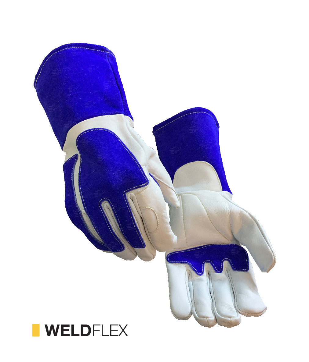 weld flex cut-resistant gloves by elite leather