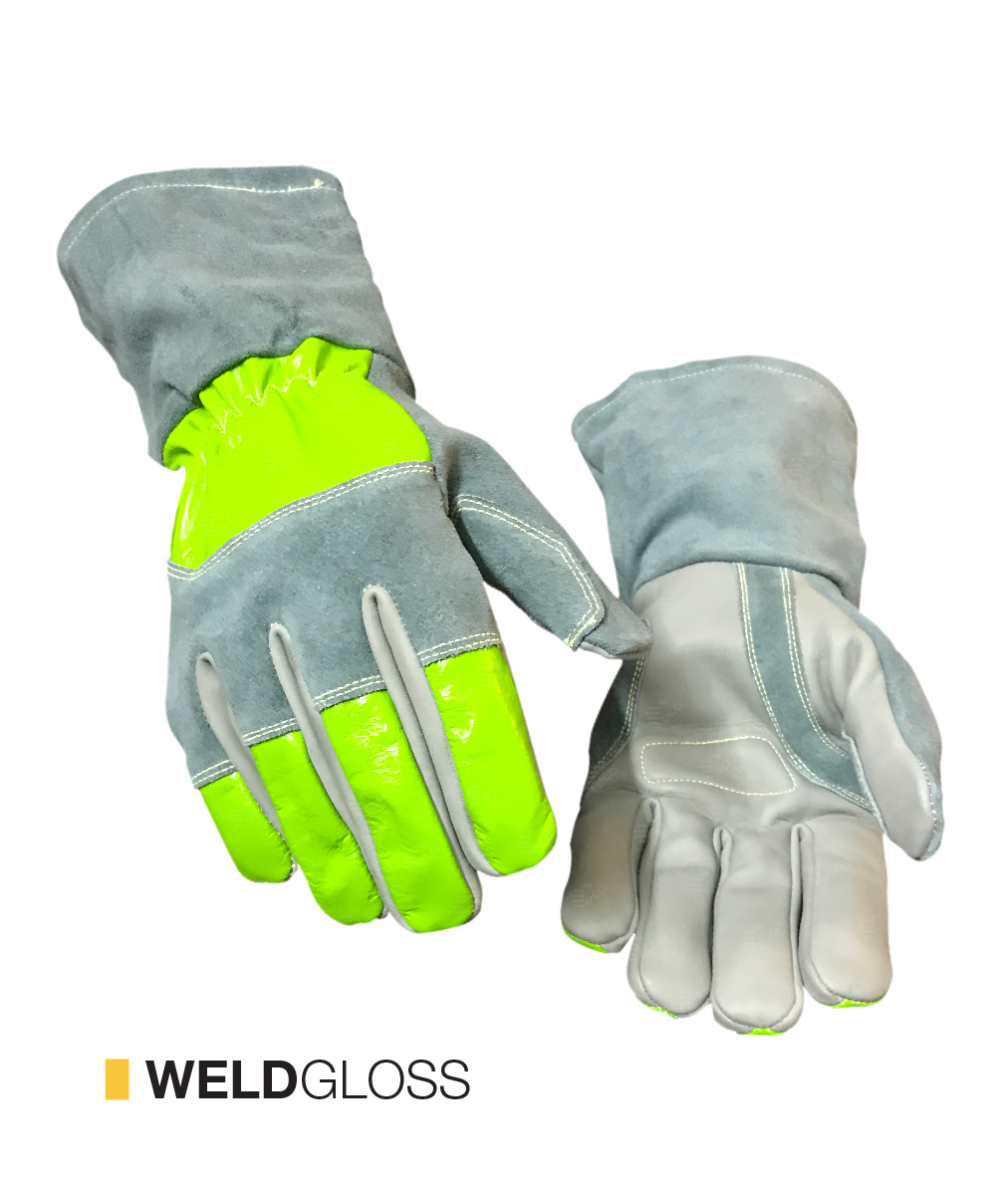 WELDGLOSS cut-resistant gloves by elite leather