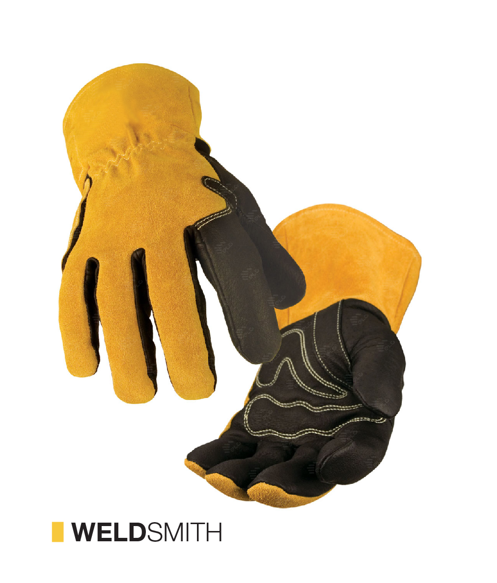 WELDSMITH Cut-resistant gloves provide excellent dexterity to workers