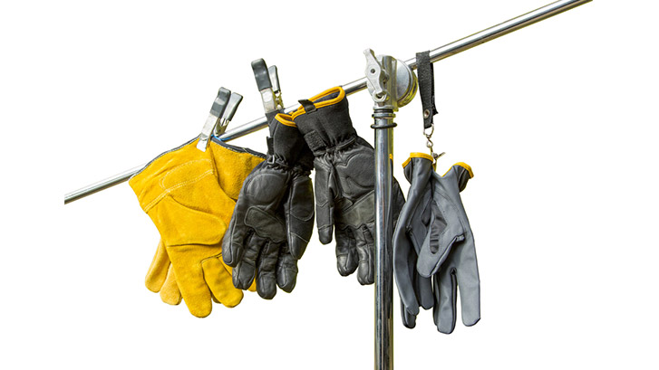 Wearing Industrial Gloves at the Workplace