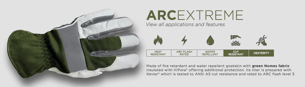 ArcExtreme gloves applications and features