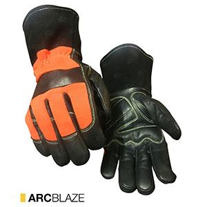 Arcblaze cut-resistant leather gloves by elite leather