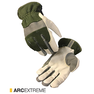 Arcextreme cut-resistant leather gloves by elite leather