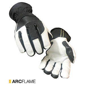 Arcflame cut-resistant leather gloves by elite leather
