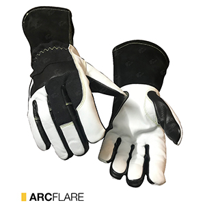 Arcflare cut-resistant leather gloves by elite leather