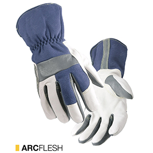 Arcflesh cut-resistant leather gloves by elite leather