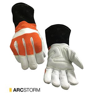 Arcstorm cut-resistant leather gloves by elite leather