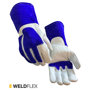 Weldflex cut-resistant leather gloves by elite leather