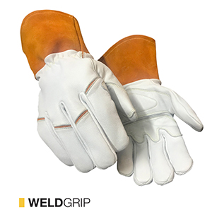 Weldgrip cut-resistant leather gloves by elite leather