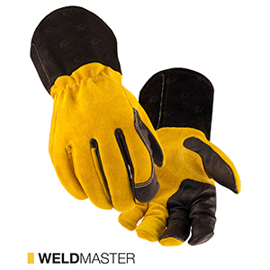 Weldmaster cut-resistant leather gloves by elite leather