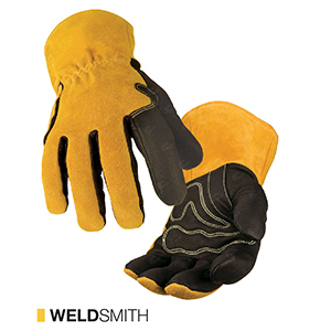 WeldSmith cut-resistant leather gloves by elite leather