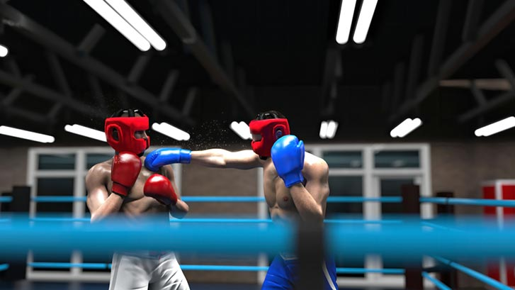 boxing headgear element of safety stability