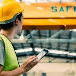 Safety Management System - A man checking safety measures / safety audit